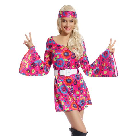 60er 70er 60s 70s fancy dress costume flower power hippy hippie