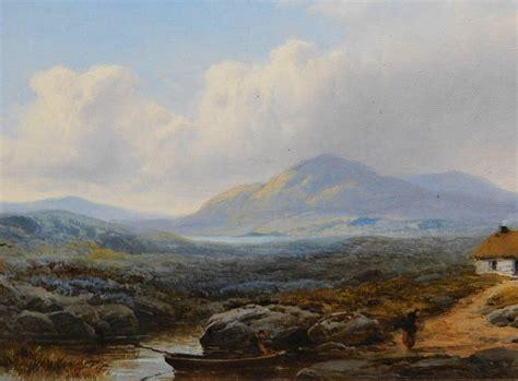 signed original oil painting british artist george blackie