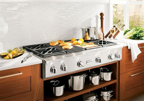 Indoor Kitchen Grill by Indoor Kitchen Grill With Gas Burning And Mosaic Tile
