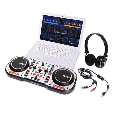 console dj tech dj tech dj 4 all usb dj controller autoradio met