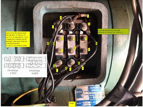 12 lead wye start delta run motor wiring diagram wiring