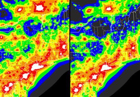 light pollution map washington corrected light pollution atlas sky telescope