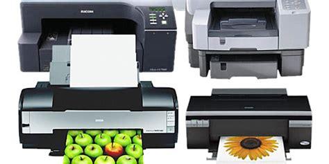 Printer Jenis Epson jenis jenis printer yang perlu anda ketahui grafitama