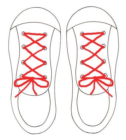 shoe lacing card templates tie my shoe activity ziggity zoom