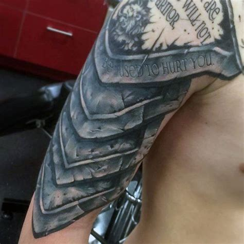 tattoo on shoulder cost top 90 best armor tattoo designs for men walking fortress