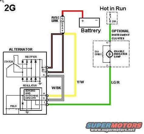 wiring diagram: gm alternator wiring diagram 3 wire