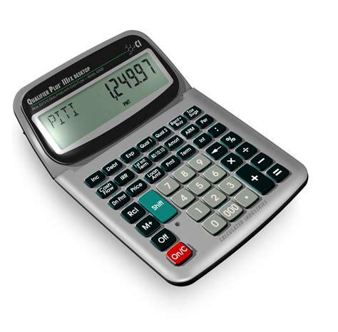 Finance Calculator Calculated Industries 43430 Desktop Qualifier