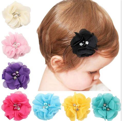 aliexpress buy 1 pcs new baby chiffon flower hair beautiful hair