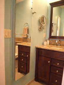 Bathroom Cabinet Height Semi Recessed Medicine Cabinets Create Height Mirror Traditional Bathroom Newark By