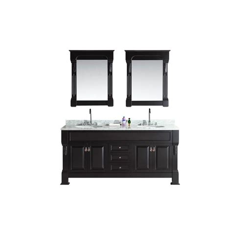 home depot design element vanity design element marcos 72 in w x 22 in d double vanity in