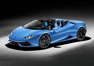 Black Saleen Mustang 2016 Lamborghini Huracan Lp610 4 Spyder Front Photo Bright Blue Color Size 2048 X 1444 Nr