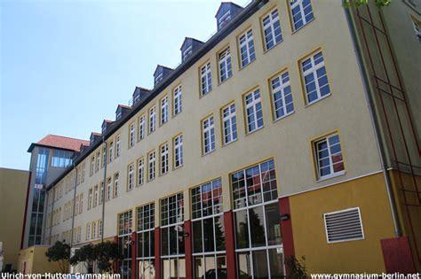 ulrich hutten gymnasium berlin ulrich hutten gymnasium gymnasium in berlin