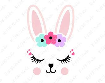 printable easter bunny eyes bunny face etsy