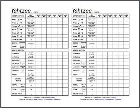printable painted yahtzee score sheets free yahtzee score sheets