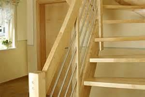 preiswerte treppen wangentreppe aus heimischer birke preiswerte