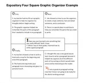 free will writing template 12 four square writing templates free sle exle