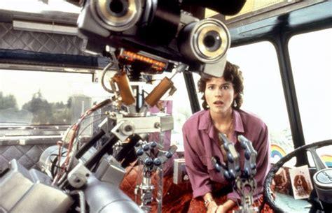 robot film actress name forgotten childhood short circuit 1986 the arcade
