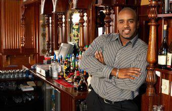 the of a bartender chron