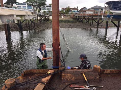 boat mooring in poole boat shelter project poole moorings jetties