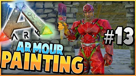 ark survival evolved painting armour dino s s2 ep 13