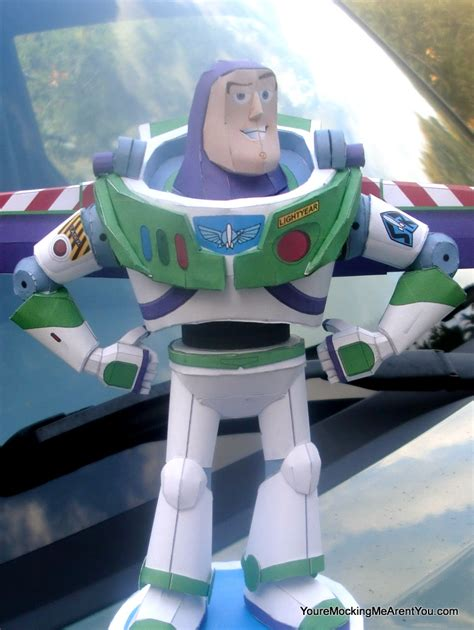 Buzz Lightyear Papercraft - buzz 046 papercraft buzz advanced