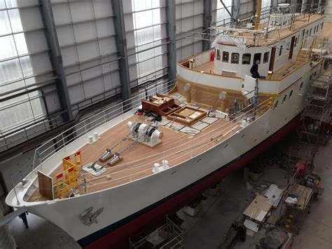 how much do boat captains make malahne classic motor yacht g l watson co during refit