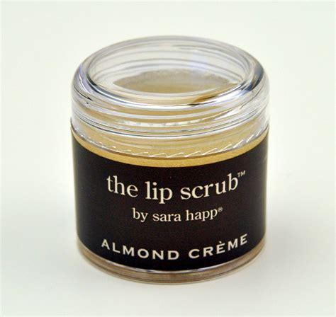 Lip Scrub Happ happ almond creme lip scrub review photos