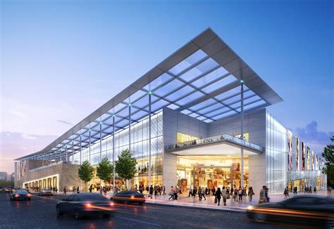 shopping mall t 236 m với arch buillding