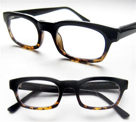 two tone retro focus eyewear