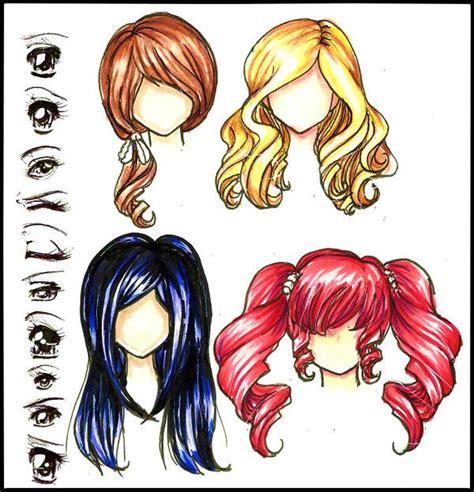anime hair colors 17 best ideas about anime hair color on