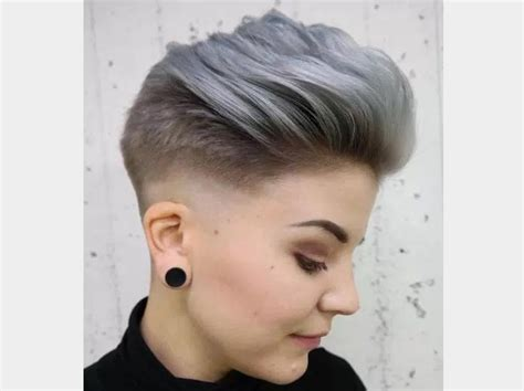Coiffure Femme Cheveux Mi Court by Coiffure Femme Cheveux Courts Argent Coupe Cheveux 2017