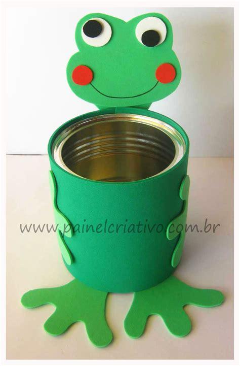 decorar latas con goma eva utiliza foamy o goma eva para decorar latas de aluminio y
