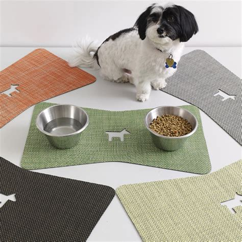 Mat For Dogs by Chilewich Introduces Pet Mats Milk