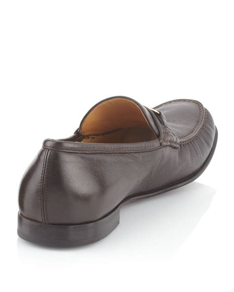 bally loafer bally candino loafer indiana in brown for lyst