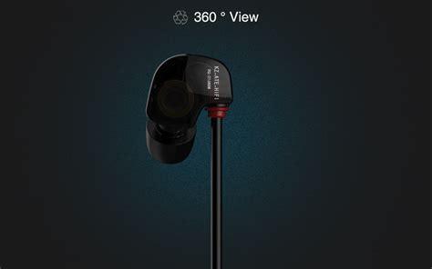 3 5mm In Ear Earphone Black Intl kz ate s 3 5mm earhook design bass earphone