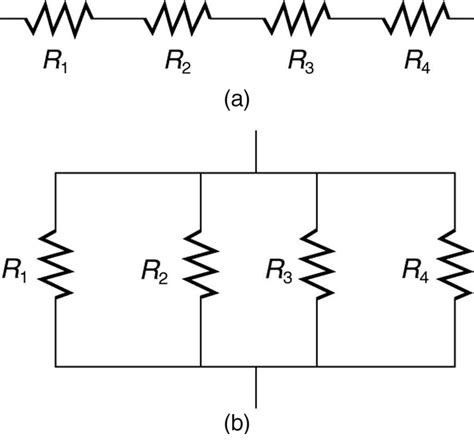electrical circuits resistors in parallel and in series resistors in series and parallel 183 physics