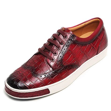 oxford sneakers mens s fashion alligator oxford sneakers