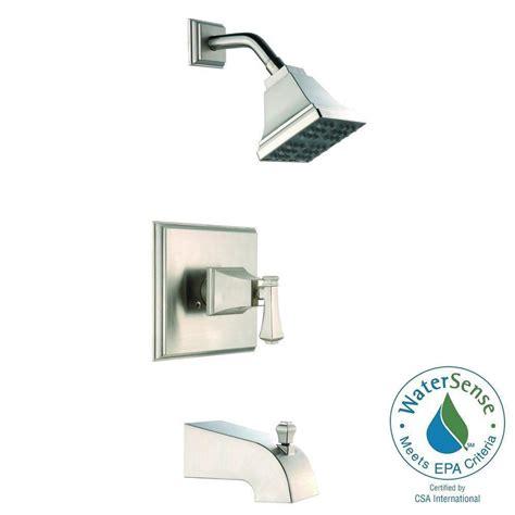 pegasus exhibit watersense single handle 1 spray tub and
