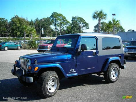 patriot blue jeep wrangler 2005 patriot blue pearl jeep wrangler unlimited 4x4