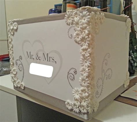 Customized Wedding Cards by Decor Customized Wedding Card Box With Hearts 2559078