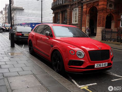 red bentley 2017 bentley bentayga 4 february 2017 autogespot