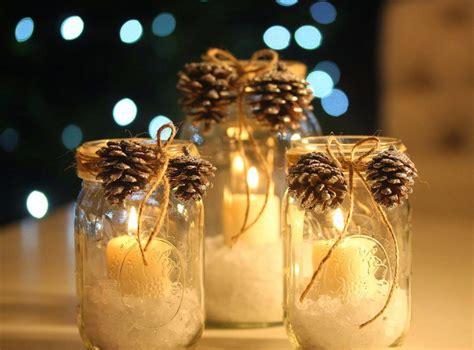 idees pour transformer des pots en verre en decorations