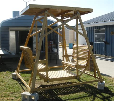 4 person glider swing cccc foundation furniture auction coming june 5 05 27 2010