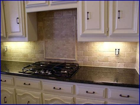 kitchen tile backsplash ideas with uba tuba granite