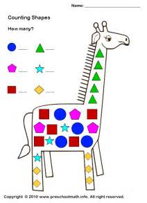 shape activities for preschoolers shapes worksheets for