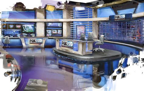 wxin tv set design gallery