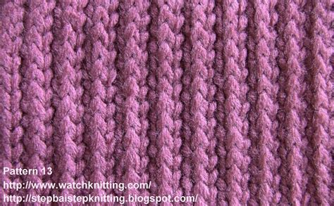 how to knit patterns stripe stitch free knitting tutorial knitting