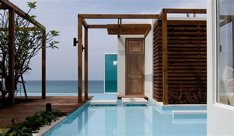 3 bedroom beachfront villas private pool aleenta phuket