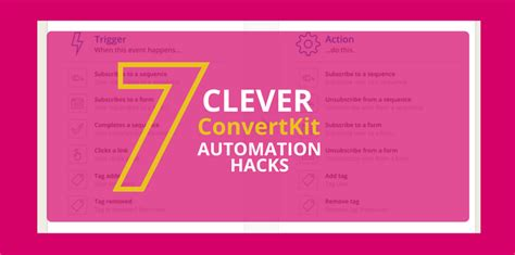 7 clever convertkit automation hacks redefining