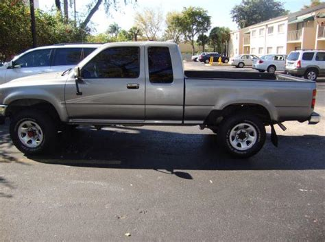 Toyota T100 For Sale Craigslist My Quot New Quot Toyota Truck 4x4 South Florida Yotatech Forums